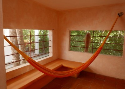 Come doze in a hammock while the breeze comes through the windows...